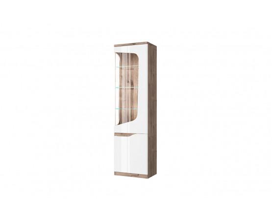 Шкаф с витриной 1V1D P «Evora»