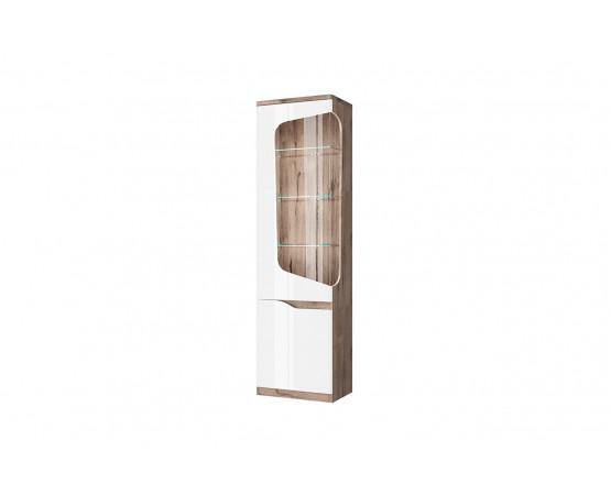 Шкаф с витриной 1V1D L «Evora»