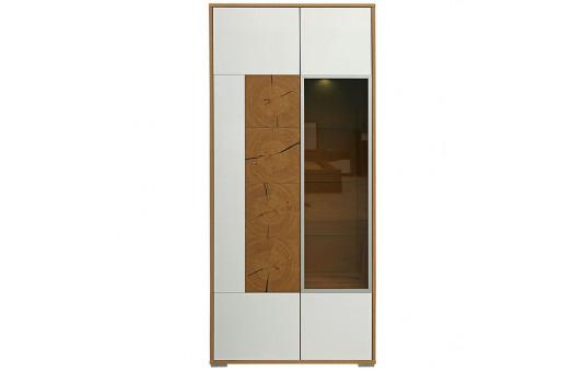 Шкаф с витриной «Гелиос» П550.01-01