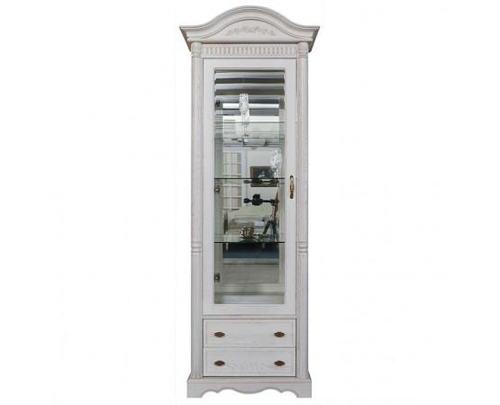 Шкаф с витриной «Паола 2380-01» БМ670 - SALE