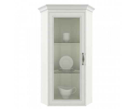 Шкаф с витриной 1VU «Tiffany» вудлайн кремовый