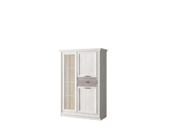 Шкаф с витриной 1V2D1S «Bordo»