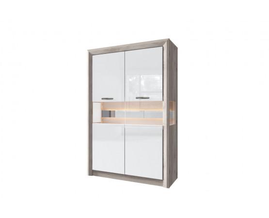 Шкаф с витриной 2V «Orlando»