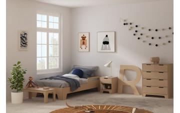 Мебель из массива березы в интерьере, ее выбор и уход