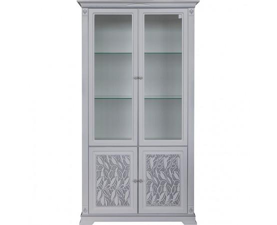 Шкаф с витриной «Мартина 2 3Д» П573.02 3Д