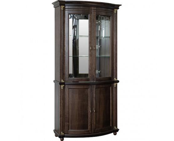 Шкаф с витриной «Валенсия Д 2з» П566.15