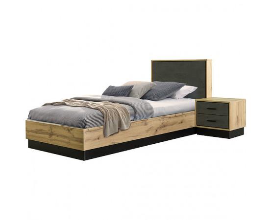 Кровать одинарная «Лайн» П620.17