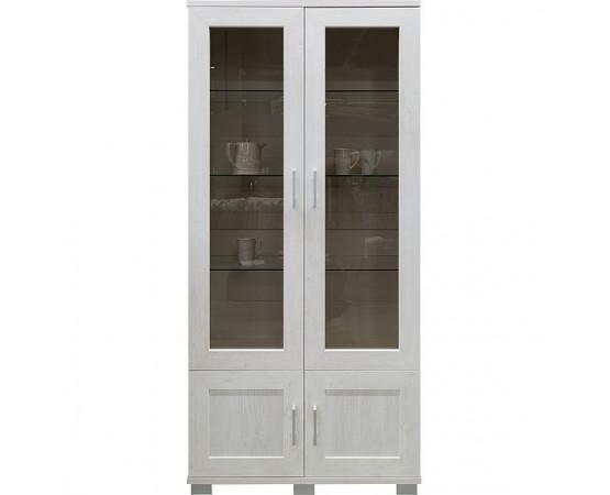 Шкаф с витриной «Оникс» П045.102