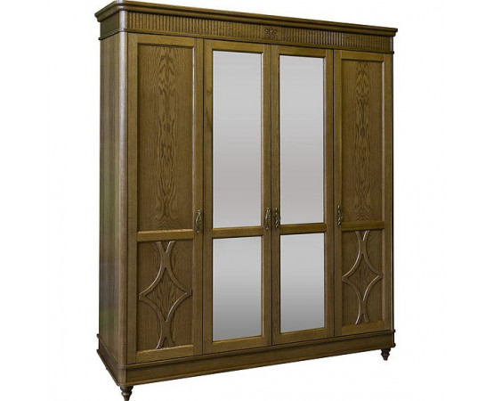 Шкаф для одежды 4д «Юстина 2359-01» БМ691