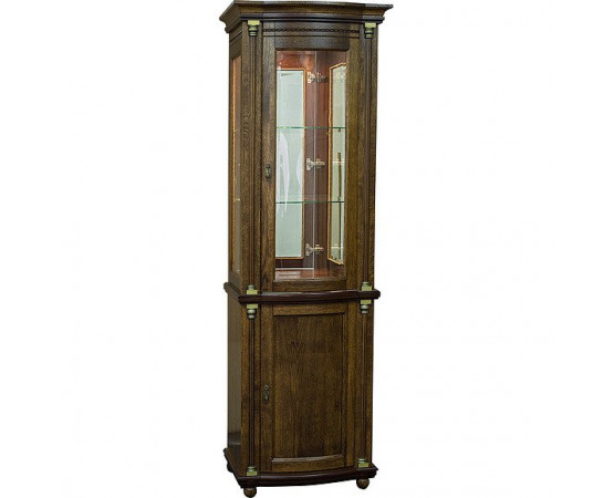 Шкаф с витриной «Валенсия Д 1з» П566.14