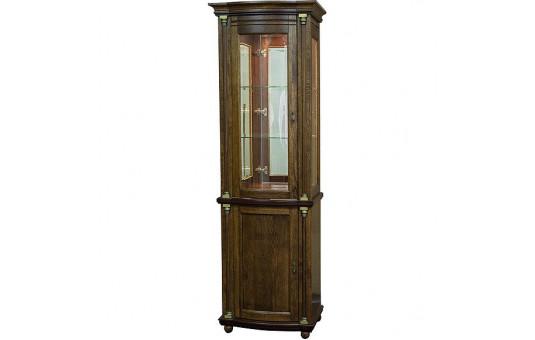 Шкаф с витриной «Валенсия Д 1.1з» П566.14.1