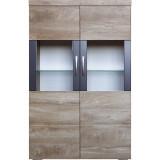 Шкаф с витриной «Амаранти» П563.04