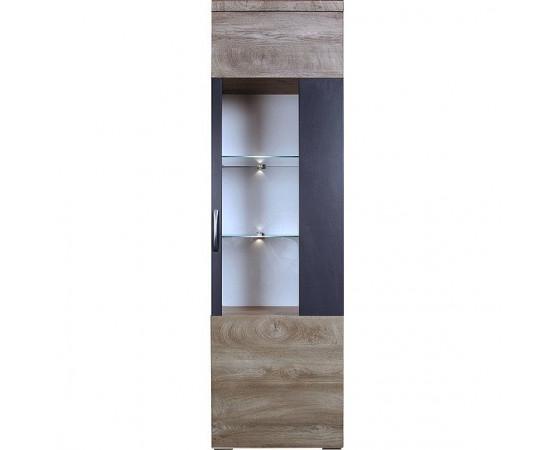 Шкаф с витриной «Амаранти» П563.01