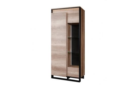 Шкаф с витриной «Каньон» П561.20-1