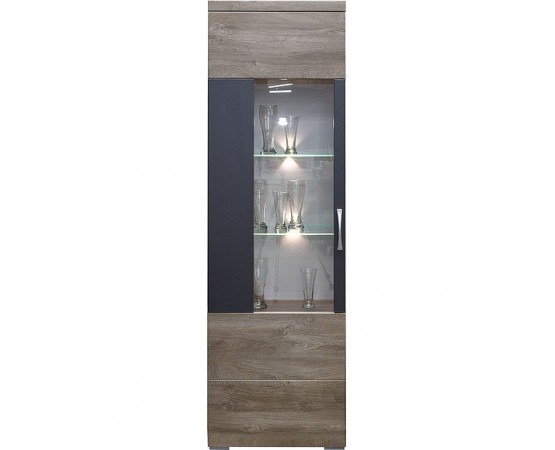 Шкаф с витриной «Амаранти» П563.01-01