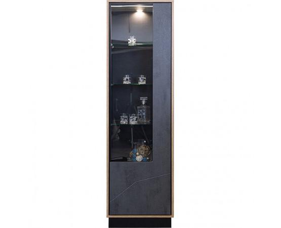 Шкаф с витриной «Лайн» П619.01