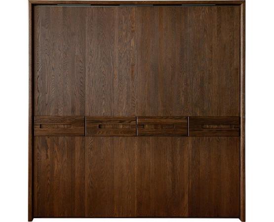 Шкаф для одежды 4д «Хедмарк 2210Бр» БМ761