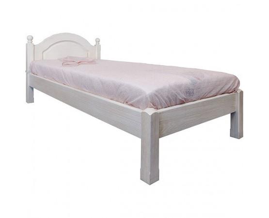 Кровать одинарная 1-09 «Лотос 8908БР» БМ701