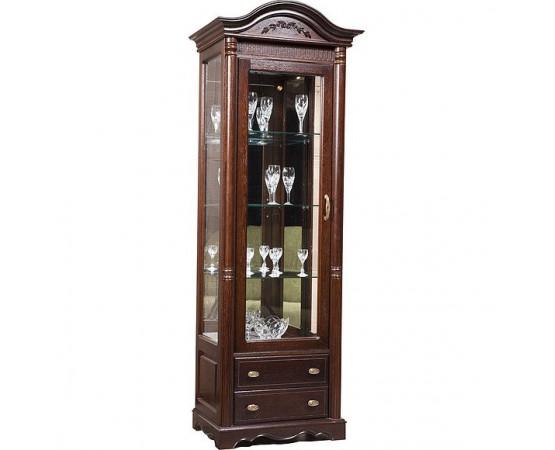 Шкаф-витрина «Паола 2102-01» БМ670