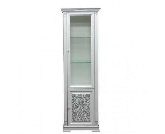 "Шкаф с витриной ""Мартина 1 3Д"" П573.01 3Д"