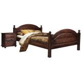 Кровать двойная «Лотос 9005(9011)» БМ701