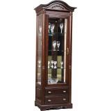 Шкаф с витриной «Паола 2380-01» БМ670