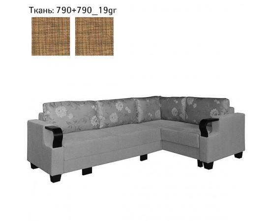Угловой диван «Каро 2» (2мL/R6мR/L)