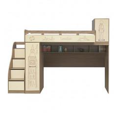 Кровать-чердак «Бритиш» П551.23