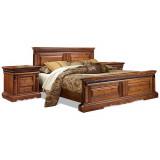 Кровать двойная «Милана» высокое изножье