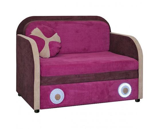 Кресло-кровать «Малыш 1» со светодиодными фонарями (1м)
