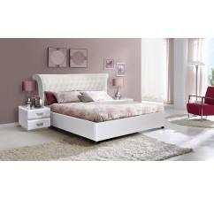 Кровать двойная «Марселла 16М» с прикроватными тумбами