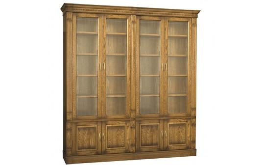 Набор мебели для библиотеки «Верди Люкс 4» П523.Н4