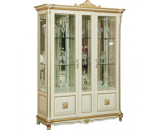 Шкаф с витриной «Алези 5 Люкс» П350.05л