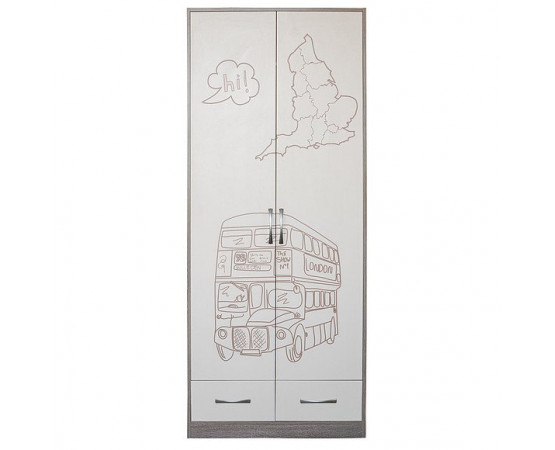 Шкаф комбинированный «Бритиш» П551.05