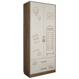 Шкаф комбинированный «Бритиш» П551.07