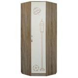 Шкаф для одежды угловой «Бритиш» П551.09