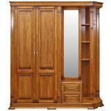 Шкаф комбинированный для прихожей «Верди Люкс 1.1» П433.01-01