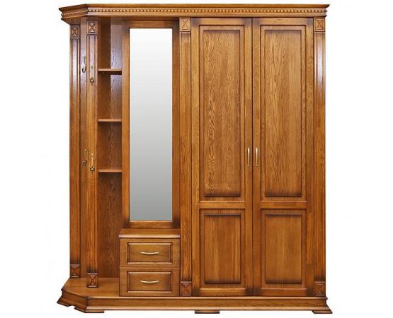 Шкаф комбинированный для прихожей «Верди Люкс 1» П433.01