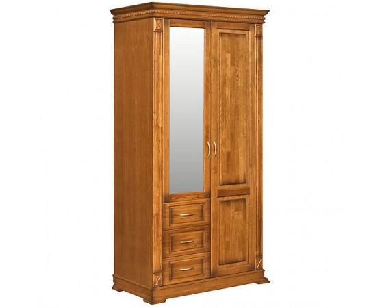 Шкаф комбинированный для прихожей «Верди Люкс» П433.12Z