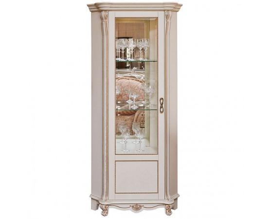 Шкаф с витриной «Алези 10» П350.13-01