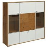 Шкаф с витриной «Гелиос» П550.02
