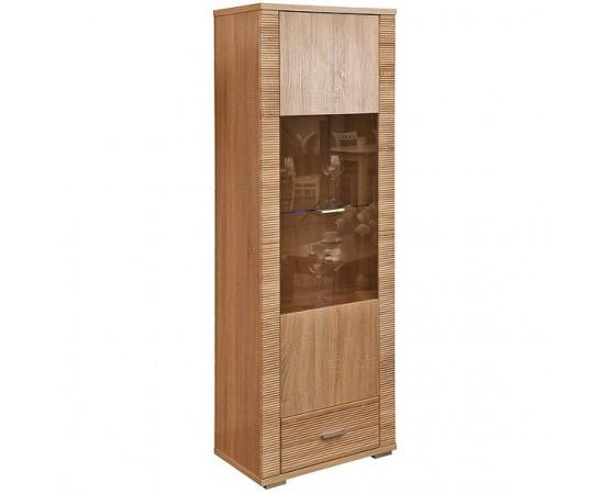 Шкаф с витриной «Гресс» П501.04