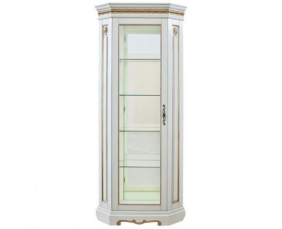 Шкаф с витриной «Милана 10» П265.10-01