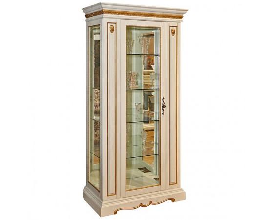 Шкаф с витриной «Милана 8» П265.08-01