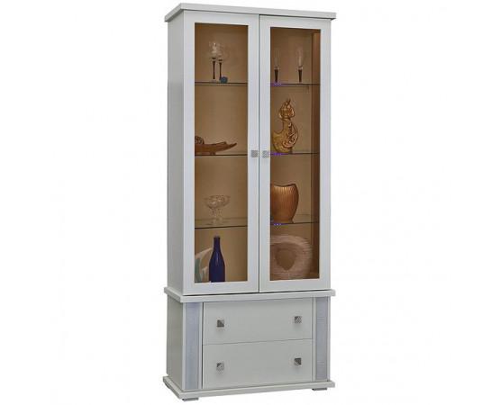 Шкаф с витриной «Тунис» П343.22Ш