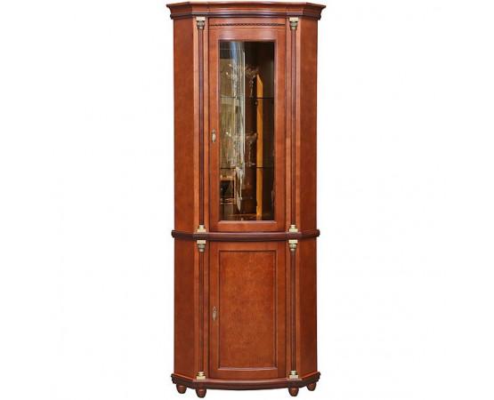 Шкаф с витриной «Валенсия 1уз» П244.13