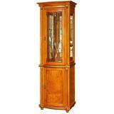 Шкаф с витриной «Валенсия 1з» П244.14