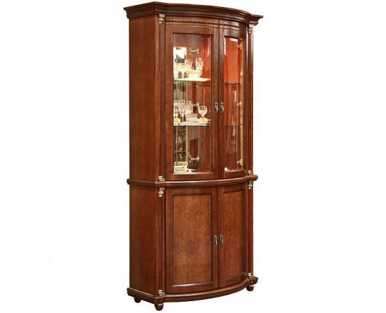 Шкаф с витриной «Валенсия 2з» П244.15