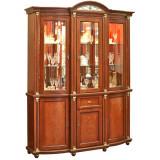 Шкаф с витриной «Валенсия 3з» П244.11