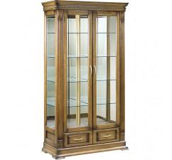 Шкаф с витриной «Верди Люкс 2з» П487.21з